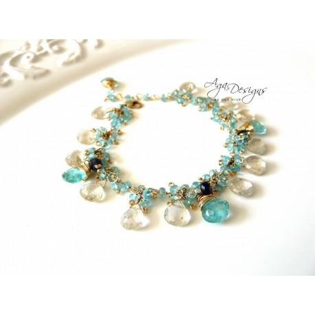 Aqua Azure Bracelet