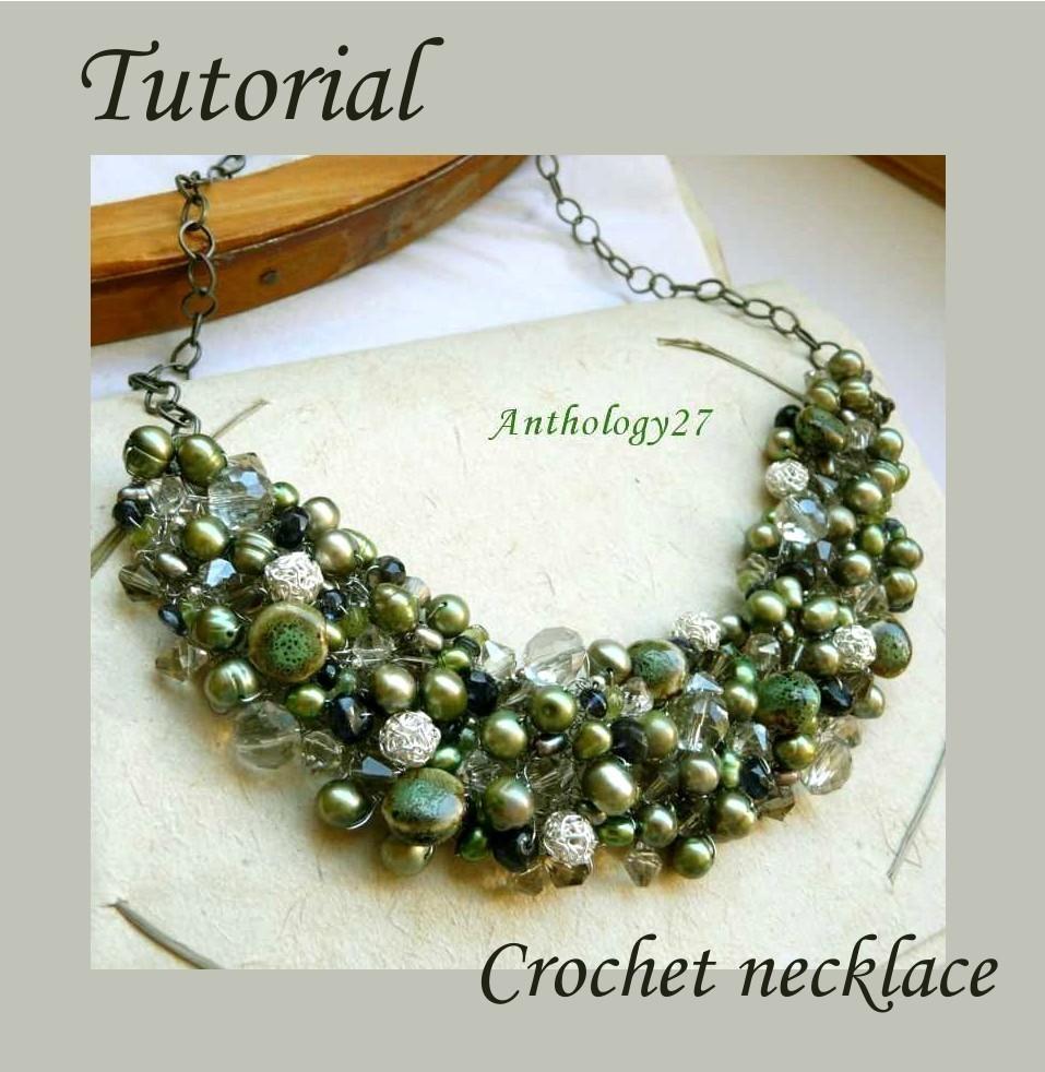 Crochet Necklace Tutorial