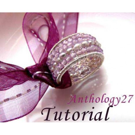 Ring with Stones and Fresh Water Pearls Tutorial