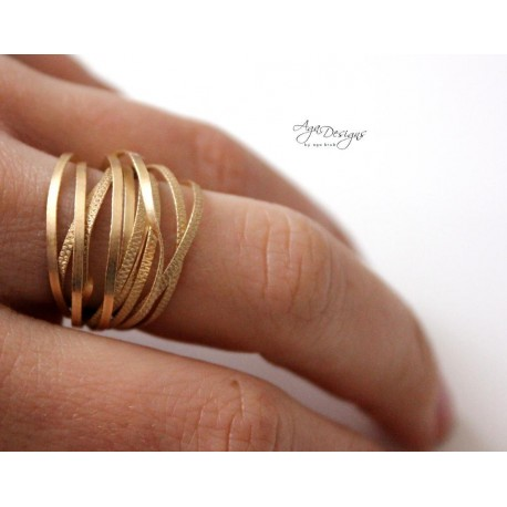 Texture Wire Ring Tutorial