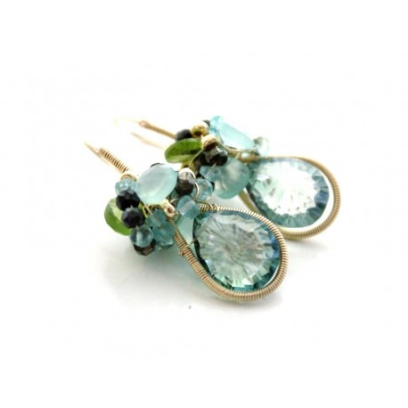 Coiled Wire Earrings Tutorial
