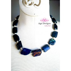 Blue Labradorite Necklace