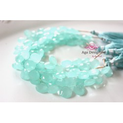 Teal /Mint Chalcedony Quartz Stones 10mm