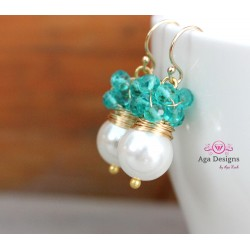 Mint Passion Earrings