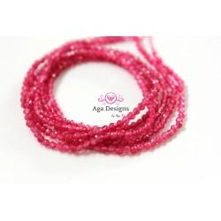Pink Quartz 2mm full strand