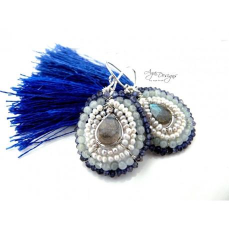Bleuet Earrings