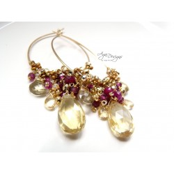 Poudre d'Or Earrings
