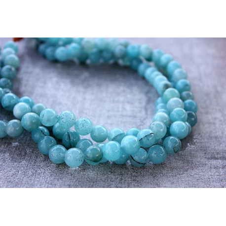 BIG Blue Jade rondelles stones 7mmx12mm