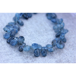 Kyanite Stone briolettes 6mm x 10mm