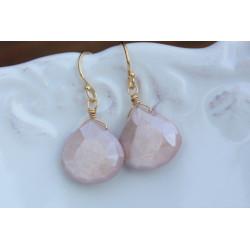 Australian Moonstone Stone earrings