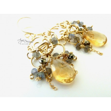 Citrique Earrings