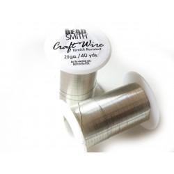 Craft wire 28 gauge silver