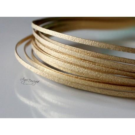 Gold texture wire - new design