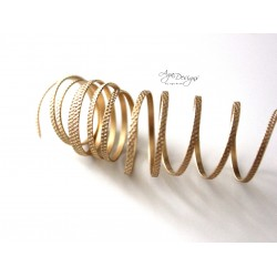 Brass texture wire 14 gauge