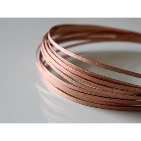 Copper texture wire - new design - 20 gauge