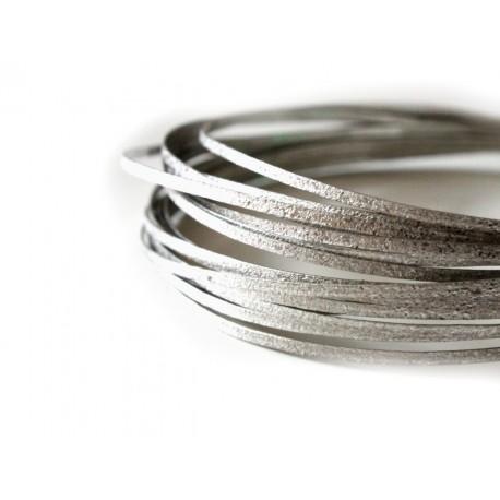 Silver texture wire - new design - 20 gauge