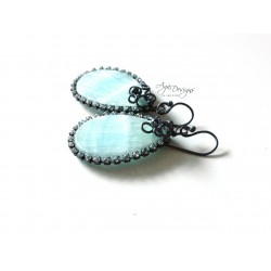 Brazil Amazonite Earrings