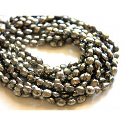 Pyrite Stones Oval Shape