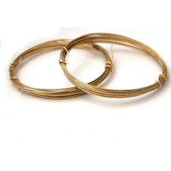 Gold Texture Wire - 20 gauge