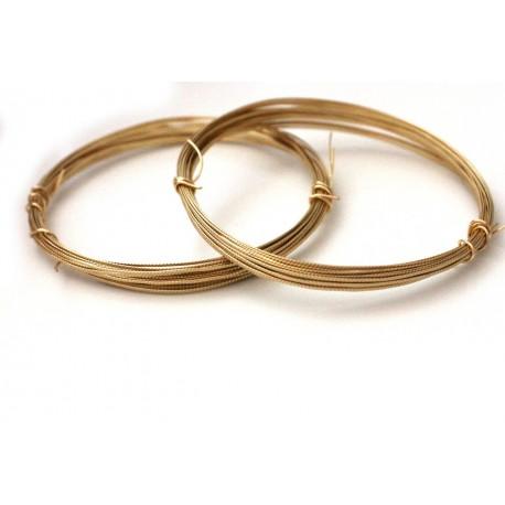 Gold Texture Wire - 20 gauge