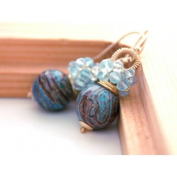 Silica Jasper Earrings