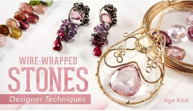 Wire-Wrapped Stones: Designer Techniques